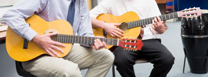 Children who qualify for our assisted music scheme will get free music tuition